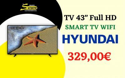 TV 43″ HYUNDAI Full HD SMART TV WIFI – HY43F5020SW