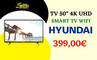 TV 50″ HYUNDAI 4K UHD SMART TV WIFI – HY50U6120SW