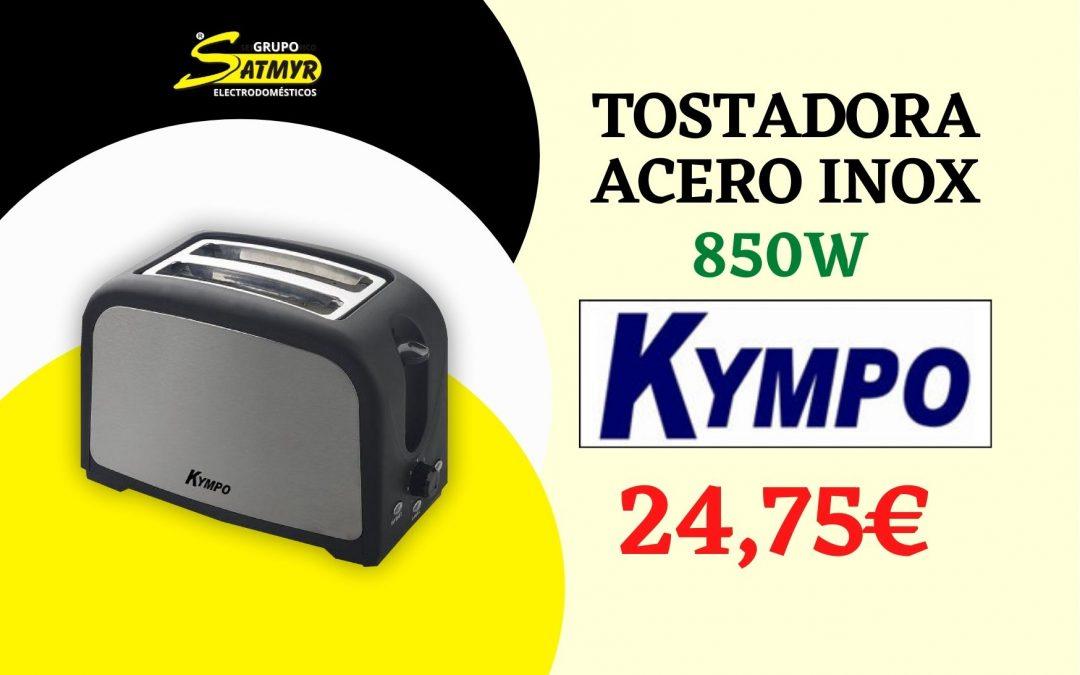 TOSTADORA ACERO INOX. 850W KYMPO – ST0206